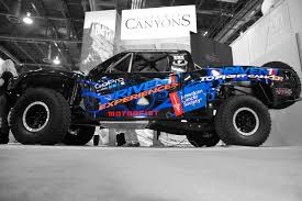 baja truck racing driven to fight cancer truck arrives at cattle baron u0027s ball on