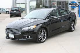 ford fusion titanium 2015 used 2015 ford fusion for sale in arlington wi vin