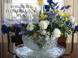 How To Revive Flowers In A Vase Make Fake Flowers Look Real Florist U0027s Tricks