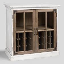 world market bar cabinet two tone wood camilla farmhouse bar world market