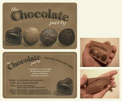 chocolate party invitations the free party