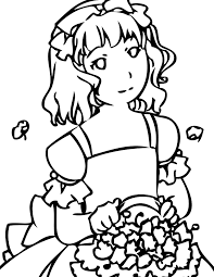 flower coloring page handipoints