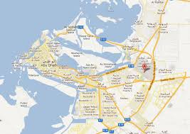 map of abu dabi abu dhabi transportation