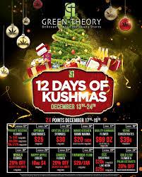 12 days of kushmas green theory