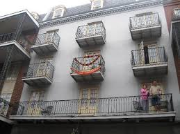 can you guess which balcony of the st marie hotel is mine we