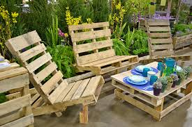 Patio Furniture Out Of Wood Pallets by 125 Patio Furniture Pictures And Ideas Outdoor Wood Dining Table