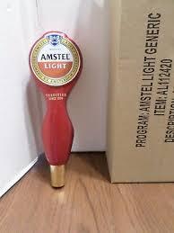 amstel light mini keg keystone light beer tap handle draft keg knob 25 00 picclick