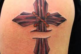 sweet cross tattoos