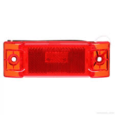 truck lite marker lights truck lite signal stat 8 diode red rectangular led marker clearance