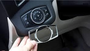 Ford Explorer 2016 Interior Aliexpress Com Buy Headlight Lamp Switch Button Cover Trim For