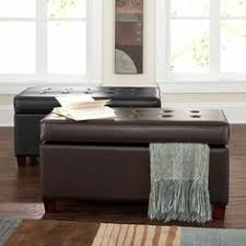 Noble House Chelsea Storage Ottoman Hinged Microfiber Bench Storage Ottoman Mocha At Target Use 2