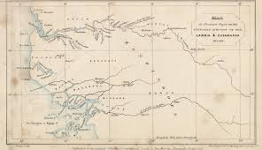 Map From Maps From The Journal Of The Royal Geographical Society Of London