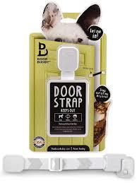 Walk Into Dining Room From Front Door Amazon Com Door Buddy Adjustable Door Strap U0026 Latch Easy Way To