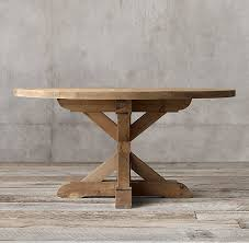 round dining table deals wood x base round dining table