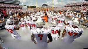 NC State football Wolfpack takes the field