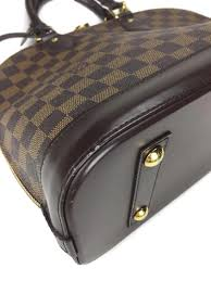louis vuitton damier ebene alma pm luxury mavin