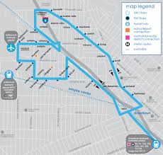 Metro Link Map by Empire To Downtown Burbank Bus