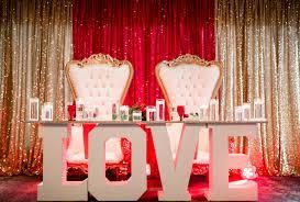 Stage Decoration For Valentine S Day by Golden Romance Valentine U0027s Day Wedding Inspiration By Kelsey