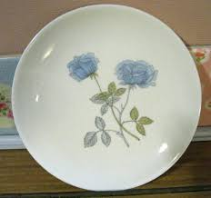 wedgwood china patterns ice rose side plate vintage