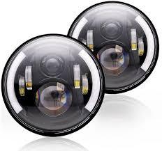 round led driving lights souq 7 inch round led head light hi lo beam led driving light
