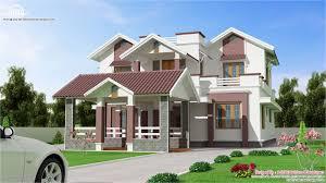 2 Floor Villa Plan Design Beautiful New 2 Floor Villa Design Kerala Home Design And Floor