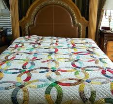 wedding ring quilt for sale wedding ring quilts book antique wedding ring quilts