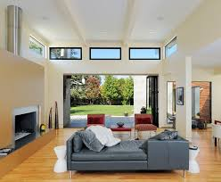 high windows living room modern with window wall decorative window