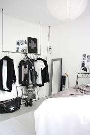 chambre noir blanc relooking déco chambre en noir et blanc côté maison