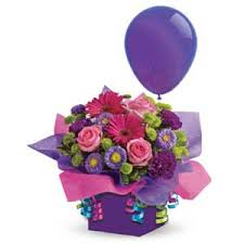 flowers and balloons c19b it s my party with balloon flowers