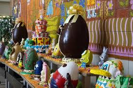 easter egg display disney s contemporary resort 2015 easter egg display photo 1 of 6