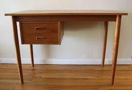 Mid Century Desk Mid Century Modern Teak Desk Picked Vintage