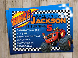 monster invitation create monster truck birthday invitations party with alluring
