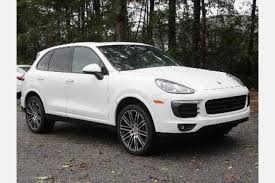 porsche cayenne white used white porsche cayenne for sale edmunds