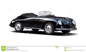old porsche speedster classic porsche speedster 356 on white stock photo image 56316264