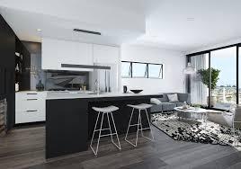 argentum renders kitchen design apartment living multi