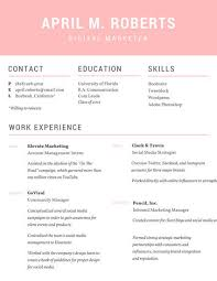 modern professional resume templates by canva