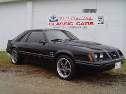 All Black Mustang 5 0 1986 Mustang Gt Maintenance Restoration Of Old Vintage Vehicles
