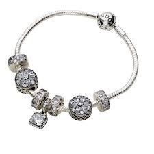 starter completed pandora bracelets and bracelet ideas
