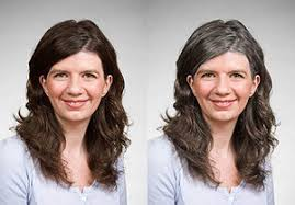 women in forties and grey hair going gray anne kreamer