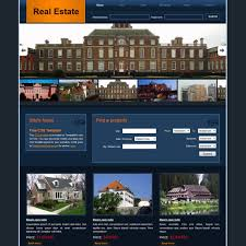 Template For Real Estate Website Free Download by Free Html Website Templates