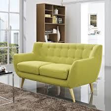 Colorful Chair Loveseats Koutz Loveseat Multiple Colors Mid Century Modern Designer