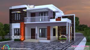 flat roof 2400 sq ft 4 bedroom home kerala home design and floor