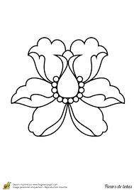 100 dessins de coloriage Fleur Facile à imprimer