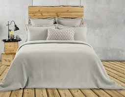 rustic quilted duvet cover