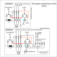 direct online starter wiring diagram 3 phase wiring diagram and