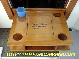 boat tables for cockpit cool stuff you can make or buy for your boat