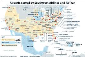 swa route map southwest travel map my
