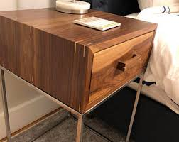 metal nightstand etsy in wood and prepare 28 quantiply co