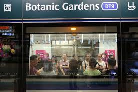 Botanic Garden Mrt Downtown Line Affected By Delays On Thursday Morning Transport