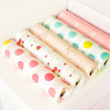 Kitchen Cabinet Drawer Liners by Contact Paper Color Dot Drawer Liner Mat Kitchen Placemat Shelf